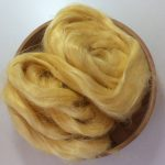 Butter Yellow Dyed Flax