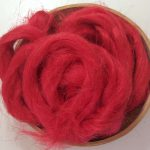 Rosy Red Dyed Flax