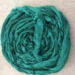 Jade Green Dyed Bamboo Combed Top Roving