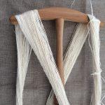 Handspun Bleached Flax Yarn
