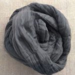 Charcoal Black Dyed Bamboo Viscose