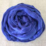 Royal Blue Dyed Bamboo Viscose Combed Top