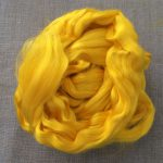 Sunshine Yellow Dyed Bamboo Viscose