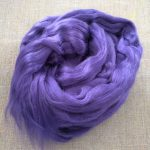 Purple Violet Dyed Bamboo Viscose Combed Top