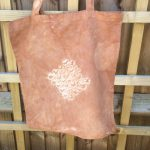 Birch Bark Dyed Market Bag