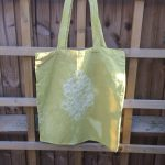 Shibori Dyed Market Bag Cardoon