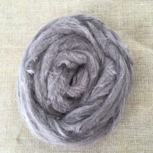 Logwood Natural Dye Hemp Roving