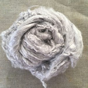 Logwood Natural Dyed Bamboo Roving