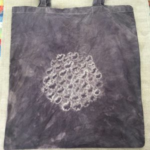 Logwood Plant Dyed Cotton Tote Bag