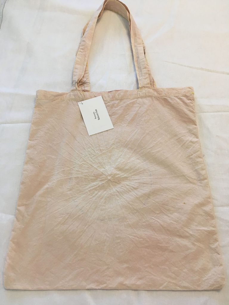 Avocado Skin Dyed Tote Bag