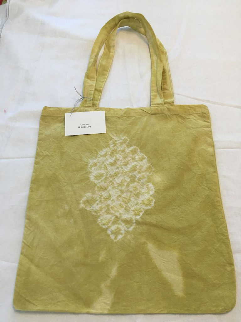 Cardoon Dyed Tote Bag