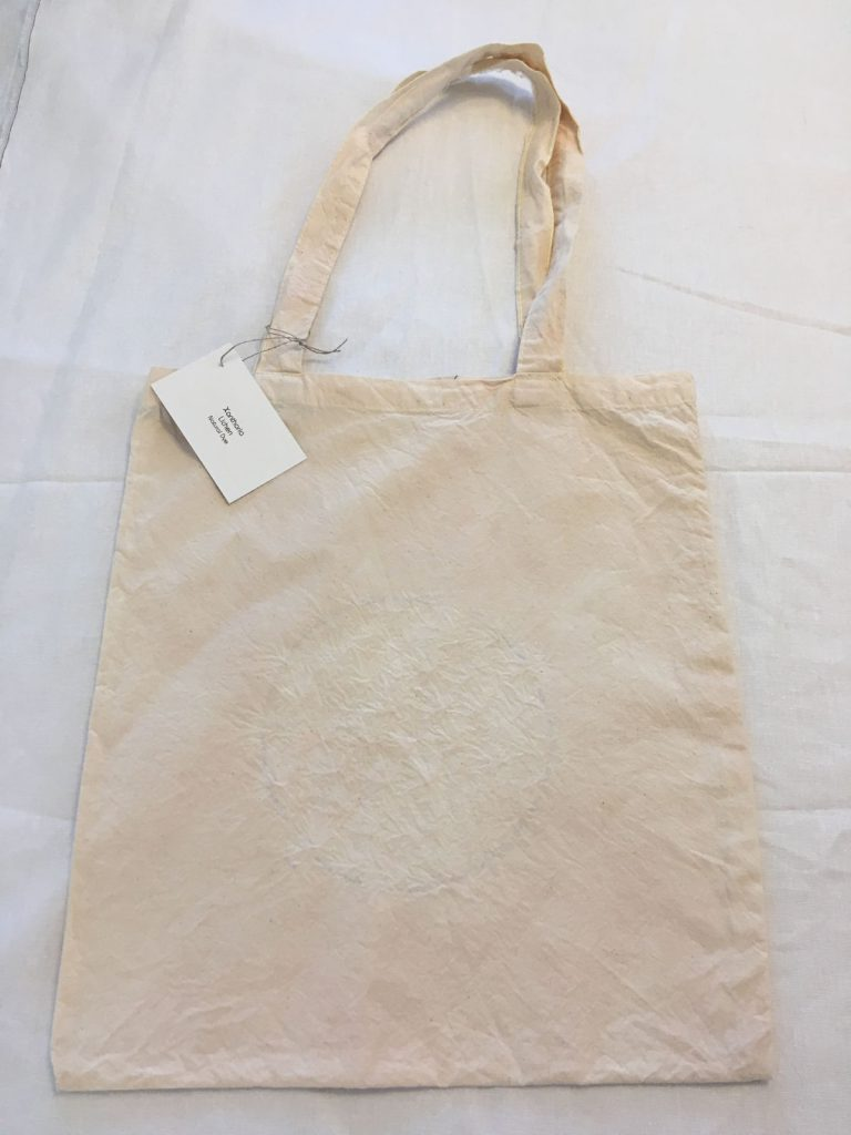 Lichen Dyed Tote Bag